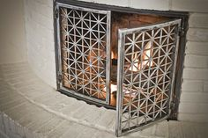 Fireplace Doors - contemporary - fireplaces - austin - The Manufactory LLC