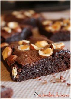 Brownie au Nutella...outrageusement bon !