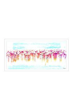 Flamingo Mirror Art on HauteLook