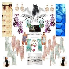 """FASHION WALK WAY DREAMS"" by carriearmstrong269 ❤ liked on Polyvore featuring Chantecaille, Annoushka, Temperley London, Betsey Johnson, House of Dharma and Luli Fama"