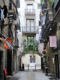 El Born. Calles de Barcelona