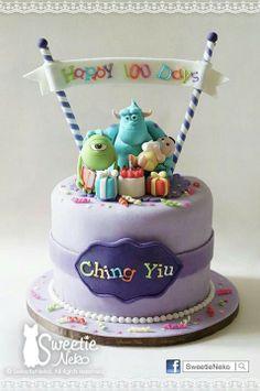 Monster University cake! http://www.facebook.com/sweetieneko