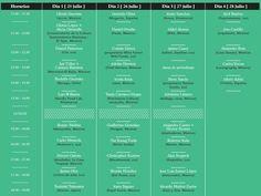 Mesamérica, programa completo / 25 a 28 Julio 2012 / DF