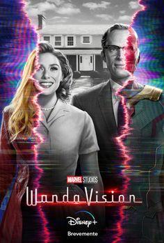 WandaVision, primeiro trailer legendado e novo poster oficial da série da Marvel na Disney+ com estreia em dezembro 2020. #seriebandadesenhada #wandavision #bdcomicspt