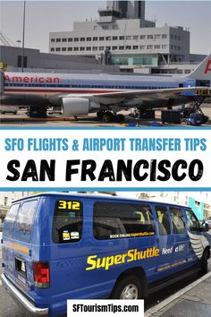 Which airport should you choose? What is the best way to get into San Francisco? Discover answers to these and other flight and arrival questions. #sfo #sanfranciscothingstodo #sanfranciscovacation San Francisco Vacation, San Francisco Neighborhoods, Things To Do, Good Things, Union Square, Best Hotels, Night Life, The Good Place, The Neighbourhood