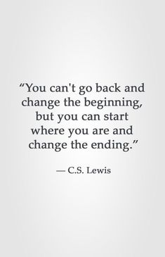 C.S. Lewis motivational quote