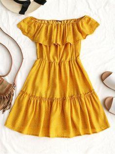 Up to 80% OFF! Polka Dot Ruffle Off Shoulder Mini Dress. #Zaful #Dress Zaful,zaful outfits,zaful dresses,zaful bikinis, spring outfits,summer dresses,super bowl,saint patrick, st patricks,easter, easter ideas,cute,classy,dress,long dress,maxi dress,mini dress,long sleeve dress,flounced dress,vintage dress,casual dress,lace dress,boho dress, flower dresses,maxi dresses,floral dresses,long dress,party dress,bohemian dresses,floral dress @zaful Extra 10% OFF Code:ZF2017 #womendressesclassy