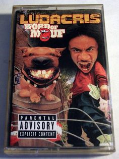 "Ludacris ""Word Of Mouf"" Music Cassette Tape 2001 Island Def Jam Music Group #Southern"