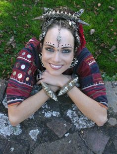 Devi Mamak (Australia)- troupe member and artistic director of the award winning Ghawazi Caravan, based in the Blue Mountains in N.S.W since 2000. Considered one of Australia's premier American Tribal Style(R) dancers, teachers and choreographers having trained many of the top dancers in the genre & has also studied a variety of Middle Eastern dance styles herself for well over a decade as well as Flamenco, Classical Indian & Ballet.