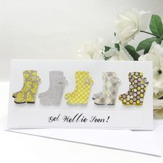 Get Wellie Soon Card *P