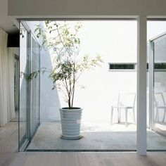 Japanese architect Shinya Miura has completed a house in Shizuoka with three courtyards concealed inside.