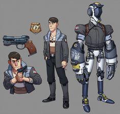 TPA Agents Character Sheet by thdark on DeviantArt
