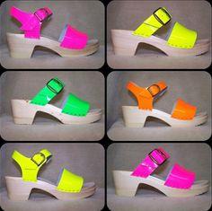 Neon Colors!! - Neon Clogs - Sven Clogs  http://www.svensclogs.com/catalogsearch/result/?q=neon Sven Clogs - Google+