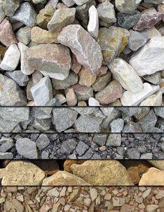 No site Vandelay Design você encontra um set contendo 5 texturas de pedra em alta resolução para utilizar em seus trabalhos. As texturas ...