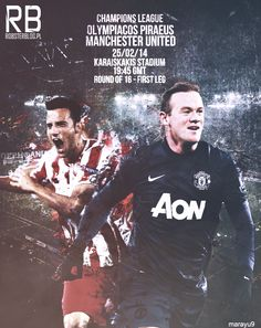 @olympiacos_org vs @Traci Janousek @Champions League #MUFC @Mary Mcdermott Benoist Come on United ! by @MaRaYu9