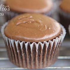 Texas Sheet Cake Cupcakes - Recipe Included