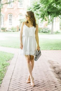 10 Best White Dresses For Summer | theglitterguide.com
