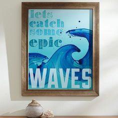 Epic Surf Framed Art