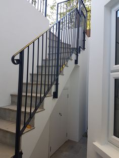 Quality handrails and staircases fabrication - mild steel, stainless steel, glass Staircase Railings, Staircases, Stairs, Wimbledon, Home Decor, Ladders, Stair Railing, Stairway, Stair Handrail