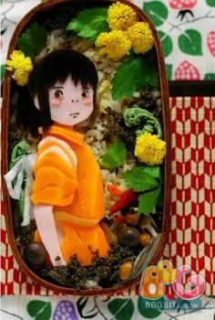 Here Comes the Super Cute Anime Bento! Have you ever tried to make an anime bento? Here are some super cute anime bento we collected. Anime Bento, Japanese Bento Box, Japanese Food Art, Cute Bento Boxes, Bento Box Lunch, Bento Food, Kawaii Bento, Studio Ghibli, Bento Japon