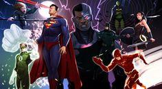Justice League. by Rodrigo Aguirre Llasera