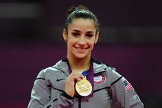 Gymnast Aly Raisman becomes the first American to win a gold medal in floor exercise. She also captured the bronze in beam.
