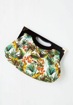 Small Bags & Clutches - Tropical Tendencies Bag #modcloth