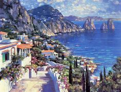 Solar painting. Artist Howard Behrens. | The original work of talented and…