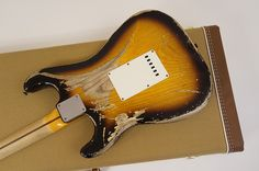 Stratocaster Usa Custom Shop 1957 R77951 Heavy Relic 2 Color