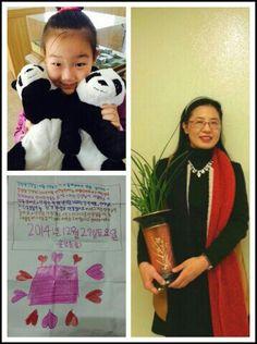 연희교회 초1 ♥윤영의 목걸이 선물 감사합니다.(강성실)