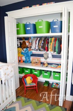 Kids Closet Organization For More Room Ideas Visit Http Bostonpaspaper