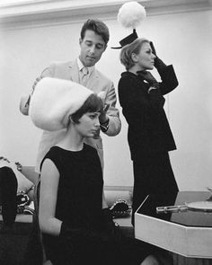 Halston, head milliner for New York city department store Bergdorf Goodman, achieved great fame and moved into designing women's wear after he designed Jacqueline Kennedy's iconic pillbox hat in 1961.