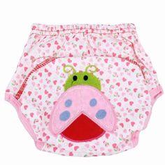 ซื้อเลย  Baby Breathable Soft Cotton Diaper Pants Reusable Cartoon Nappy(Pink) (90) - intl  ราคาเพียง  137 บาท  เท่านั้น คุณสมบัติ มีดังนี้ Name: &diaper pants Specification: 80, 90, 100 Age: 0 to 24 months Material: pure cotton Features: material is qualitative soft, comfortable, can berepeated washing, also can adjust size, suitable for different sizeof the baby