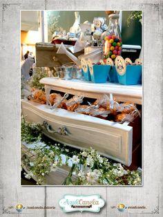 Mesa de Dulces / Candy Bar / Decoración Bautizo / Candy Buffet