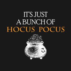 Check out this awesome 'Hocus+Pocus' design on @TeePublic!