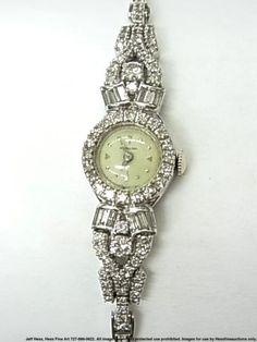 Vintage Ladies Hamilton Diamond