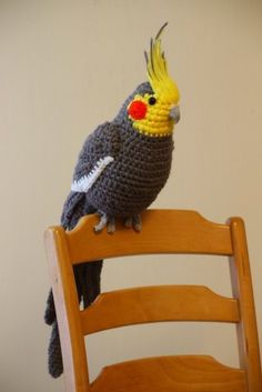 Ravelry: Amigurumi Blue-and-Yellow Macaw/Parrot pattern by CAROcreated design In this article I wanted to share the most beautiful amigurumi bird models of You can decorate your home. Crochet Bird Patterns, Crochet Birds, Cute Crochet, Amigurumi Patterns, Crochet Animals, Easy Crochet, Crochet Amigurumi, Crochet Dolls, Crochet Yarn