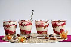 Himbeer-Tiramisu, ein gutes Rezept aus der Kategorie Dessert. Bewertungen: 32. Durchschnitt: Ø 4,2.