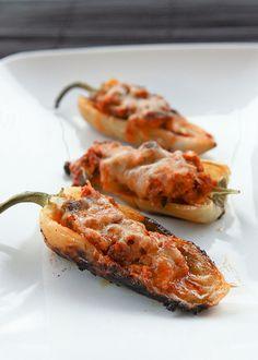 chiles rellenos - Comida Mexicana