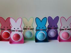Bunny eos lip balm gift idea for easter simply print in color on easter gifts for teachers eos lip balm bunnies negle Gallery