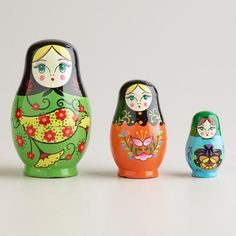 Russian nesting dolls // $9.99
