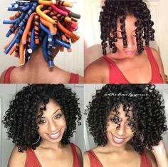 Flexi Rods on Natural Hair . Flexi Rods on Natural Hair Natural Hair Growth, Natural Hair Journey, Natural Curls, Afro, Curly Hair Styles, Natural Hair Styles, Healthy Hair Tips, Hair Health, Hair Dos