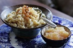 Austrian Spaetzle with cheese and caramelized onion | KasNocken ...
