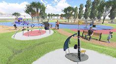 Área infantil Islas Cíes 1 http://www.ingepaisajes.com/album/parque_castrelo