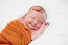 Julie Ross Photography |newborn smiles