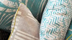 A detail shot from a recently complete C+M Studio project. We used fabrics from Cloth in Darlinghurst Sydney. They create such beautiful hand made fabrics.