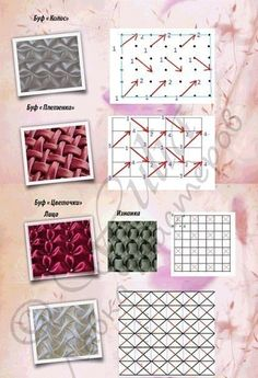 How To Do Canadian Smocking Matrix Desig - Diy Crafts - Qoster Smocking Tutorial, Smocking Patterns, Dress Sewing Patterns, Skirt Patterns, Coat Patterns, Blouse Patterns, Ribbon Crafts, Fabric Crafts, Sewing Crafts