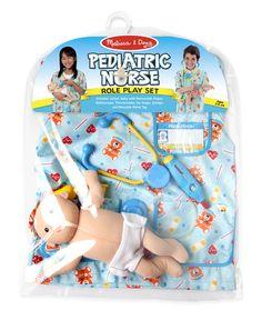 Melissa&Doug, costume d'infirmier (ère) pédiatrie, 3-6 ans, 34.99$. Disponible dans la boutique St-Sauveur (Laurentides) Boîte à Surprises, ou en ligne sur www.laboiteasurprises.ca ... sur notre catalogue de jouets en ligne, Livraison possible dans tout le Québec($) 450-240-0007 info@laboiteasurprisesdenicolas.ca