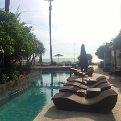 Perfect weather to head into the #pool in #Bali #Indonesia #Travel