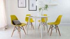 yellow-chairs-white-table-scandinavian-decor-dining-room-ideas.jpg (600×338)